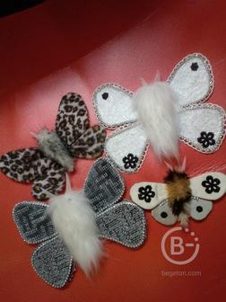 Бабочки подвески. Набор.