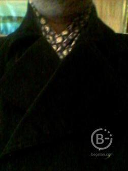 Куртка-пиджак чёрная