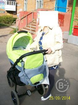 Детская коляска-трансформер 2 в 1