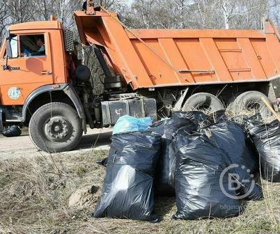 Вывоз строительного мусора КамАЗ самосвал
