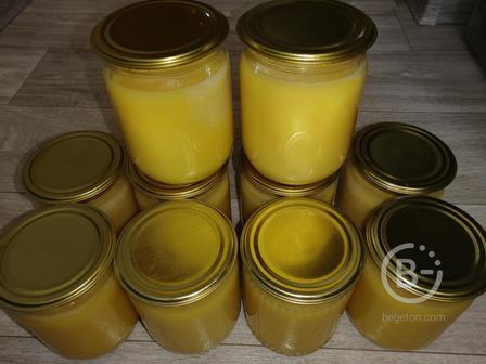 Топленое масло домашнее гхи натуральное