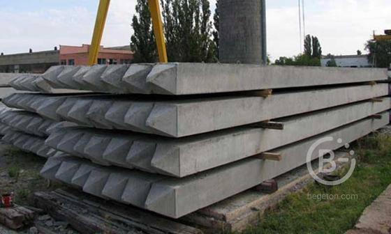 Сваи забивные железобетонные цельные для опор мостов