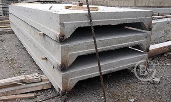 Плиты ребристые (покрытий) серия 1.065.1-2.94