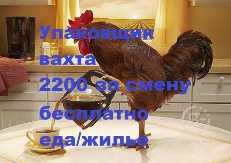 Требуется упаковщик(ца) детской одежды  и обуви на склад вахта Москва бесплатное питание и проживание