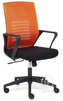Tetchair GALANT ткань, оранжевый/черный