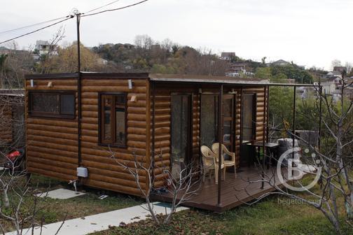 Компактный модульный дом