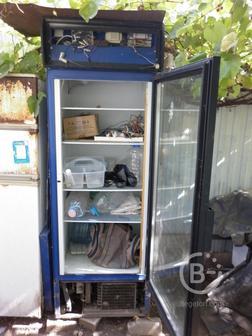 Холодильник Морозильник  h 2,2м дверь стеклопакет, темп. -9+8
