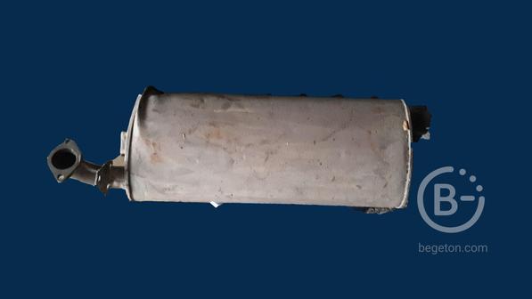 Глушитель ГАЗ с дефектом