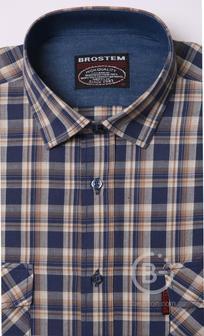 Рубашка в клетку мужская Brostem MS2A4-SH653
