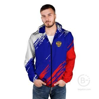 Мужская ветровка 3D RUSSIA SPORT / РОССИЯ СПОРТ