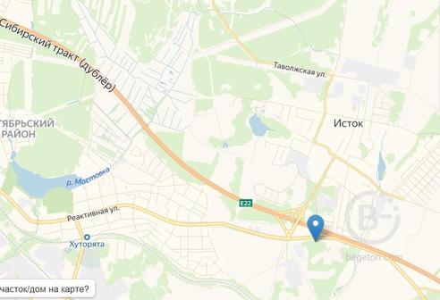 Земельный Участок в Екатеринбурге, под строительство  производственно-складской базы 4 класса вредности