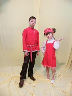 Костюм - Танцы русские народные (девочка)