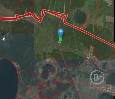 Два зеркальных участка на 1 линии трассы М5, Челябинская обл.
