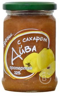 айва протертая с сахаром