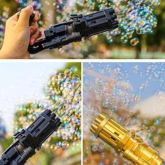 Машинка для создания мыльных пузырей