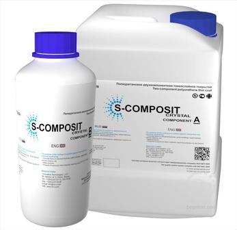 Защитные полиуретановые покрытия S-COMPOSIT CRYSTAL
