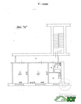 Двухкомнатная квартира г. Тихорецк