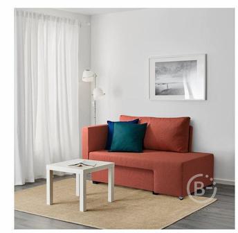 GRÄLLSTA ГРЭЛЛЬСТА 2-местный диван-кровать, Сандсбру оранжевый
