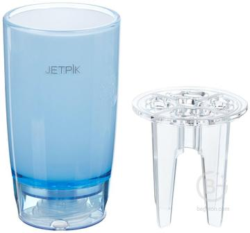 Jetpik Стакан с функцией подачи воды (Голубой) JA05-110