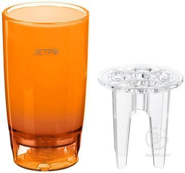 Jetpik Стакан с функцией подачи воды (Оранжевый) JA05-110