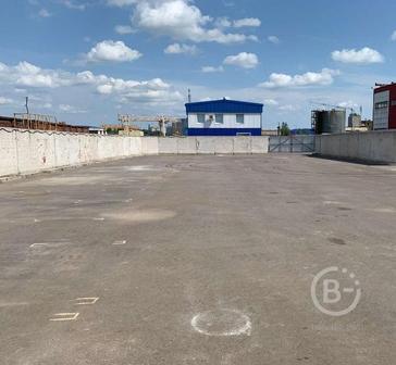 Земельный участок под складирование 1580м2.Прямая аренда
