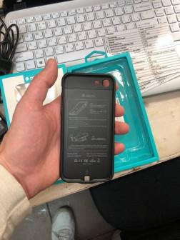 ультратонкий чехол и дополнительный аккумулятор в одном для iphone 7-7 plus и iphone 88 plus