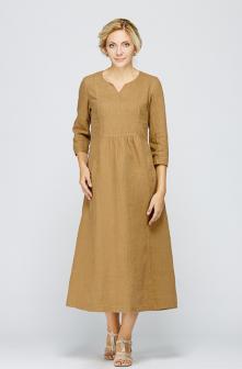 Платье лён 2128