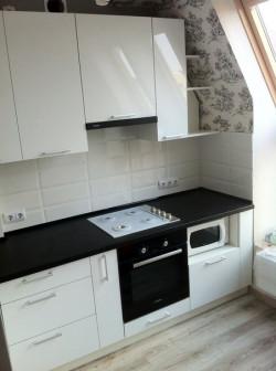 Кухня Пластик белый глянец 1.52.8