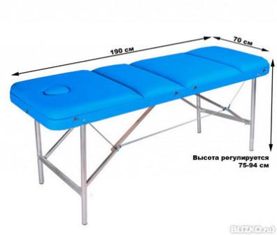 Массажный стол COMFORT ETALON 190Р бирюзовый