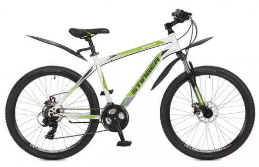Велосипед Stinger Aragon 26 2017 белый 20