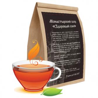Монастырский чай «Здоровый сон»