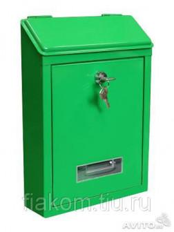 Почтовый ящик (зеленый)