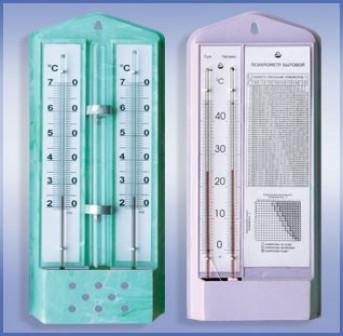 Гигрометр (Индикаторы влажности и температуры) ВИТ 1