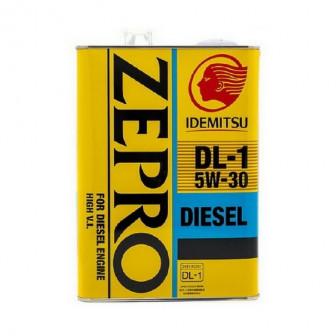 Масло мотор. Idemitsu Zepro DIESEL DL-1 5w30 4л