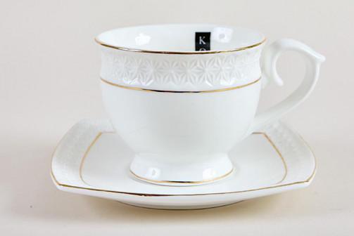 Пара чайная 280мл фкруг CS506710 A снежная королеваз