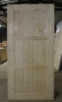 Деревянная щитовая дверь ДГЩ(3) 21-10