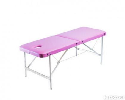 Детский массажный стол Умка 160 розовый