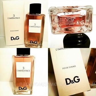 Парфюм D&G Anthology L`Imperatrice 3 Dolce&Gabbana для женщин