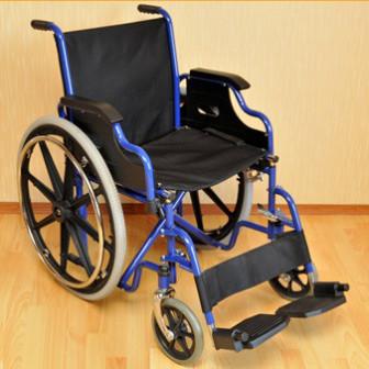 Кресло коляска механическая стальная FS909 арт МдТМ24576