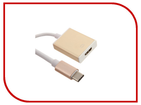Аксессуар Palmexx USB C HDMI PXCBL USBC HDMI Golden