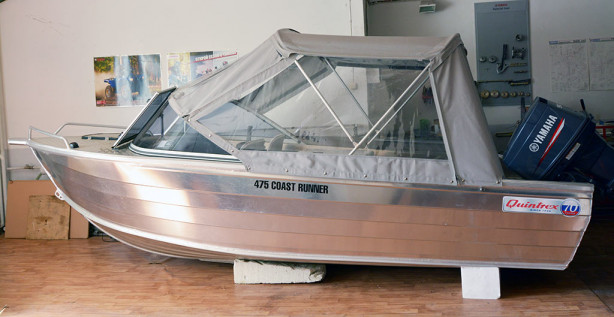 Моторная лодка Quintrex 475 Coas Runner