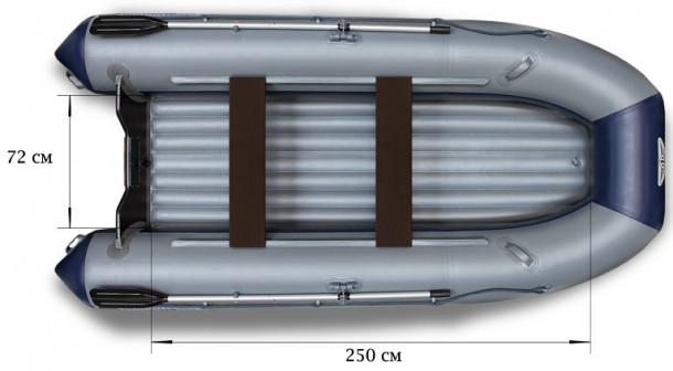 Лодка моторная Флагман 350 L