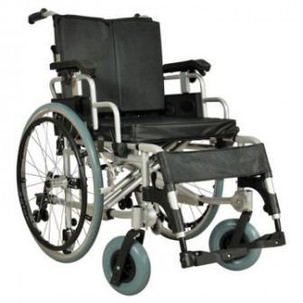 Кресло коляска механическая алюминиевая FS251LHPQ(MK 00541) арт МдТМ24586