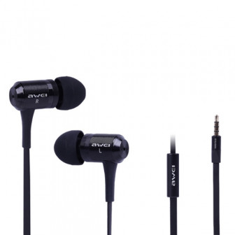AWEI ES 100i Super Bass In Ear Наушник С микрофонной гарнитурой для сотового телефона 1TopShop