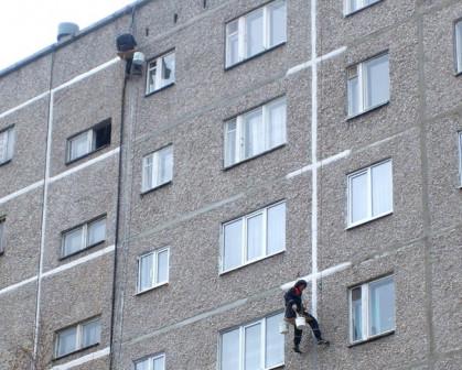 Промышленный альпинизм в Краснодаре.