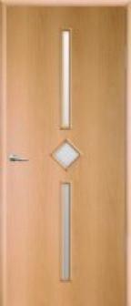 Дверь межкомнатная ламинированная Кристалл