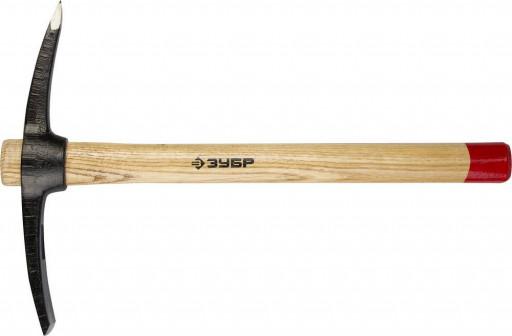 Кирка 400 г с деревянной рукояткой, ЗУБР мастер 20177 04