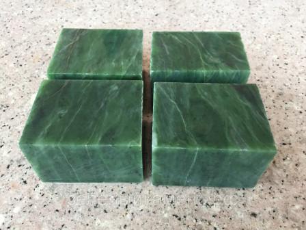 Нефрит «Кубики» для бани и сауны (Хакасия)