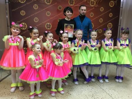 Эстрадные танцы для детей