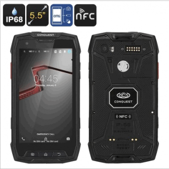 Conquest S9 Rugged Smartphone